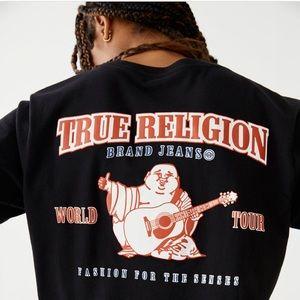 Green true religion shirt